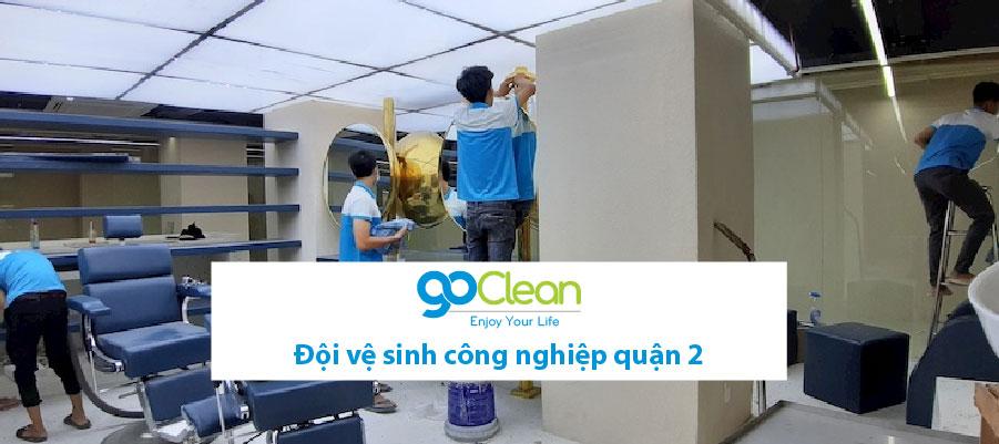 đội vệ sinh công nghiệp quận 2