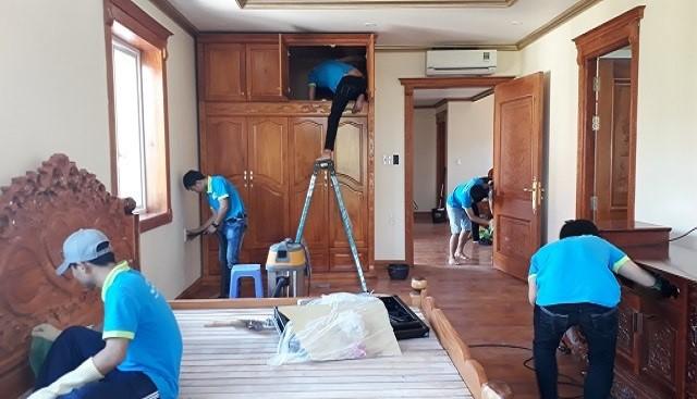Top các dịch vụ vệ sinh nhà mới xây quận 2 giá rẻ